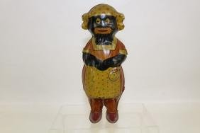 1930s Mammy Tin Wind-Up Toy Walker Lindstrom