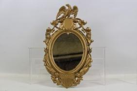 Cast Iron Mirror w/ Federal Shield & American Eagle