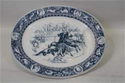 Large  Wedgwood Ivanhoe Pattern 1881 WellPlatter