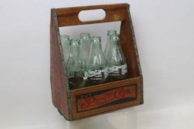 Pepsi Wooden Carrying Case