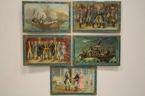 5 Postcards Tucks Washington Series No. 171
