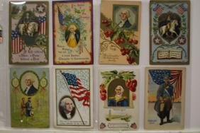 8 Postcards George Washington Misc.