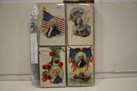 Postcards Album w/ 168 Washington Related