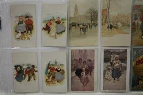 100 Postcards - Dutch Holland Children & Adults Series