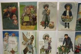 48 Postcards Children New Year Series