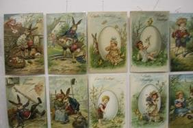 50 Postcards Children Easter Series Sets
