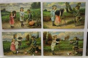 40 Postcards Children Easter Series