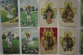47 Postcards Children Pairs Boys & Girls Series