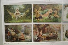 51 Postcards, Children, Angels & Cherubs in Pairs