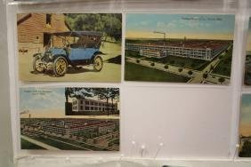 94 Postcards of Early Car Factories & Early Automobiles