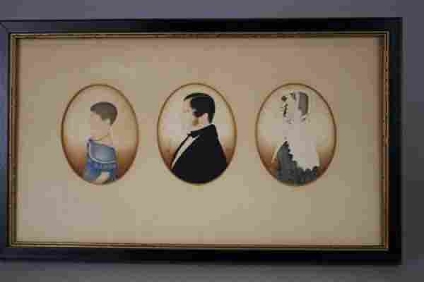 Early 1800s Family Portraits - Watercolor & Pencil