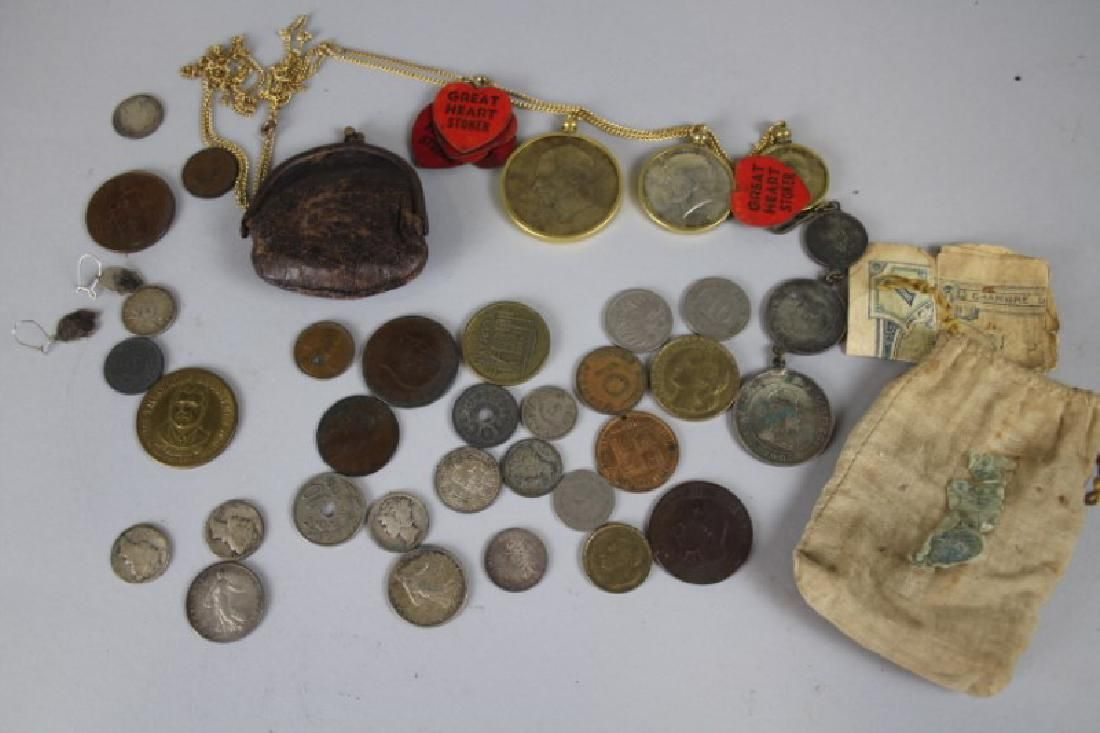 Group of Misc Coins - Estate Find