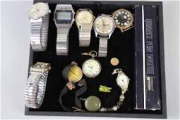 Misc Lot of Mens Wrist Watches  More