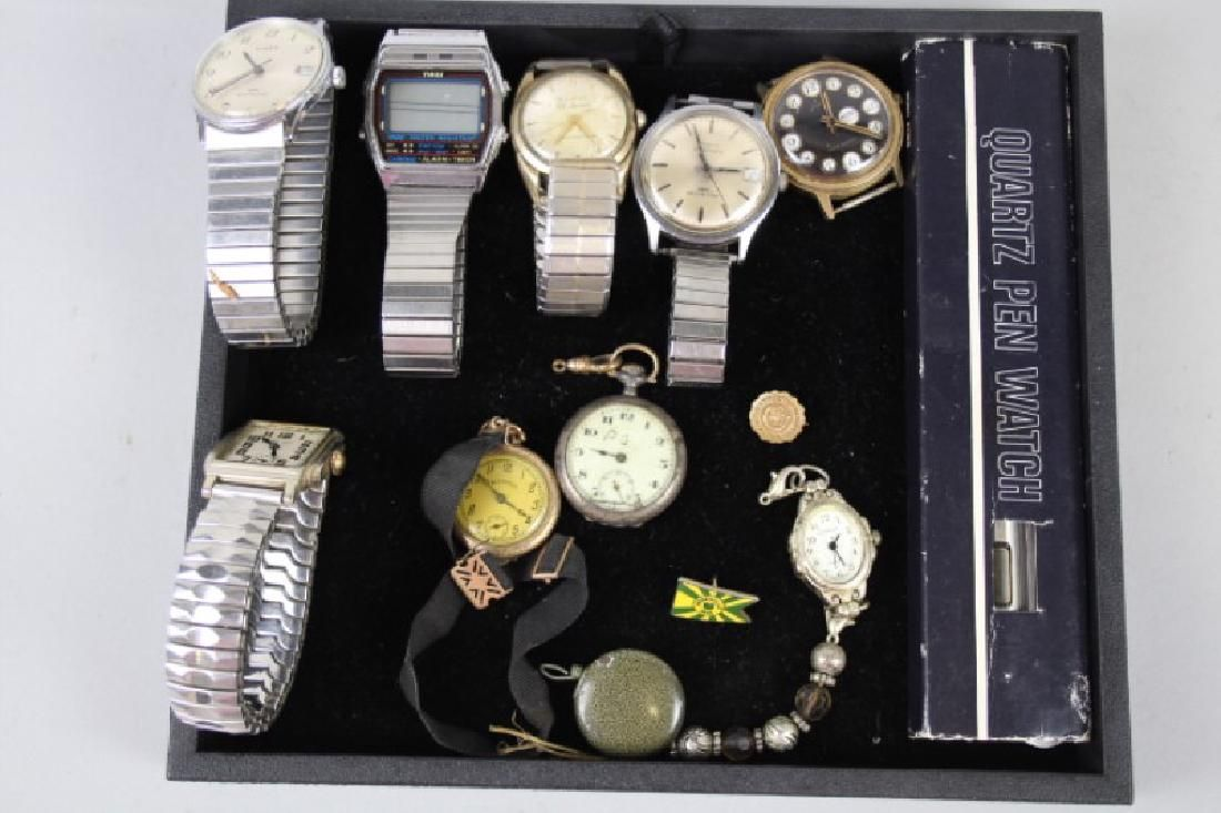 Misc Lot of Men's Wrist Watches & More