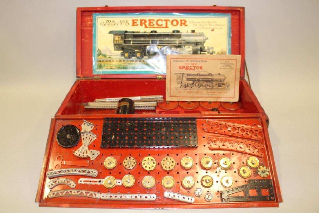 1931 No 8 Erector Super Locomotive w/Box