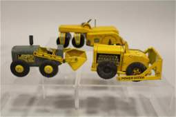 Group of 3 Pieces of Marx Tin Construction Equipment