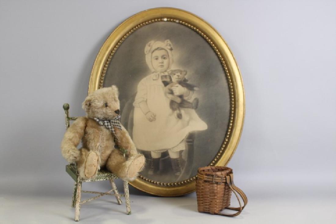 1907 Steiff Teddy Bear - Blank Button & More
