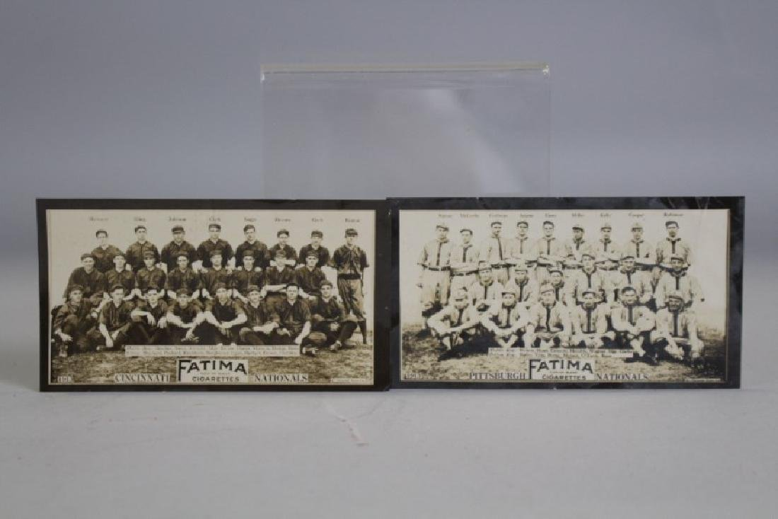 1913 Fatima Cigarettes Baseball Cards Cinci &