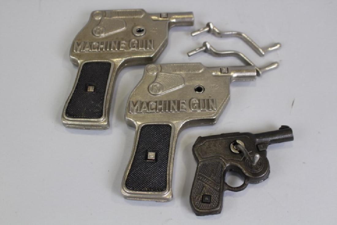 Kilgore Machine Gun & Whizzer Toy Guns