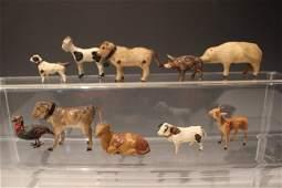 8 Stick Leg Putz Animals  Cows Deer Pigs Goat More