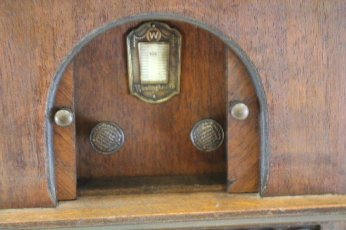 Westinghouse Window Display Salesman Sample Radio - 2