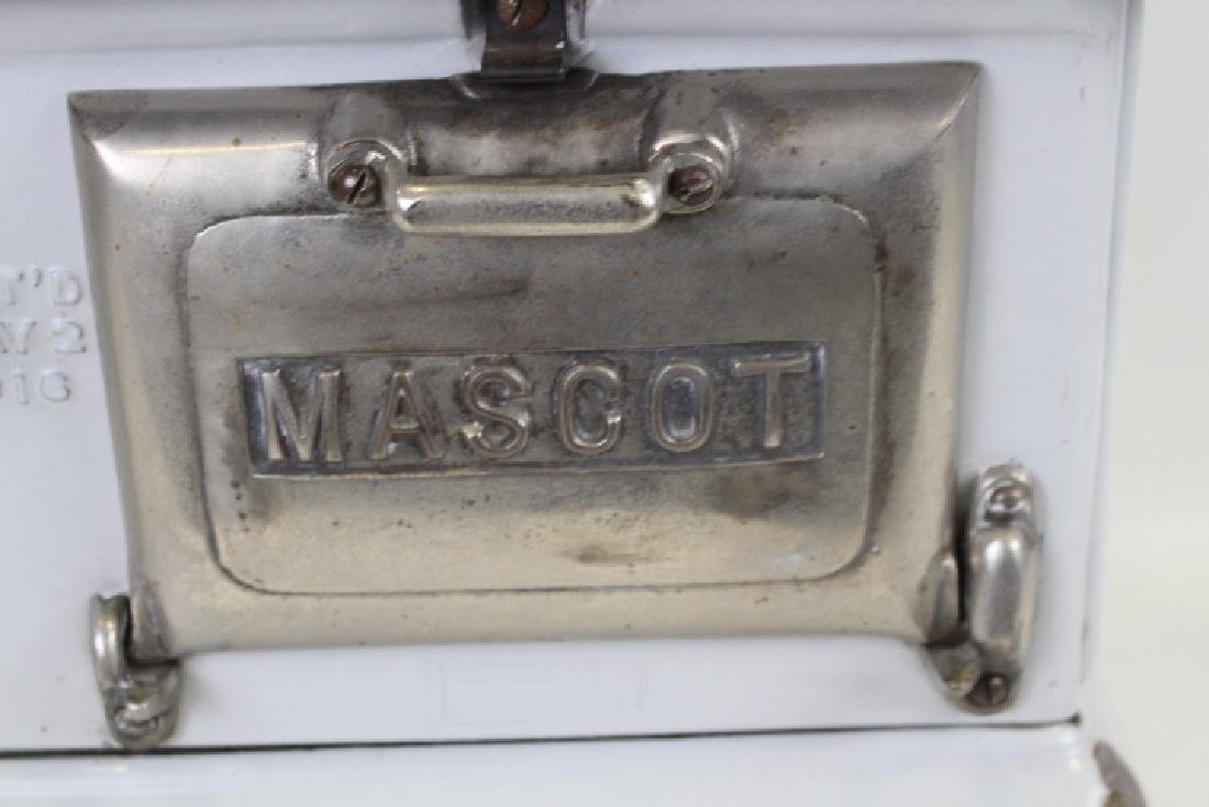 1916 Iron & Porcelain Mascot Salesman Sample / Toy - 2