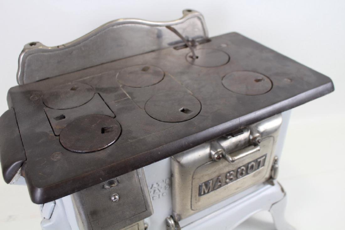 1916 Iron & Porcelain Mascot Salesman Sample / Toy - 4