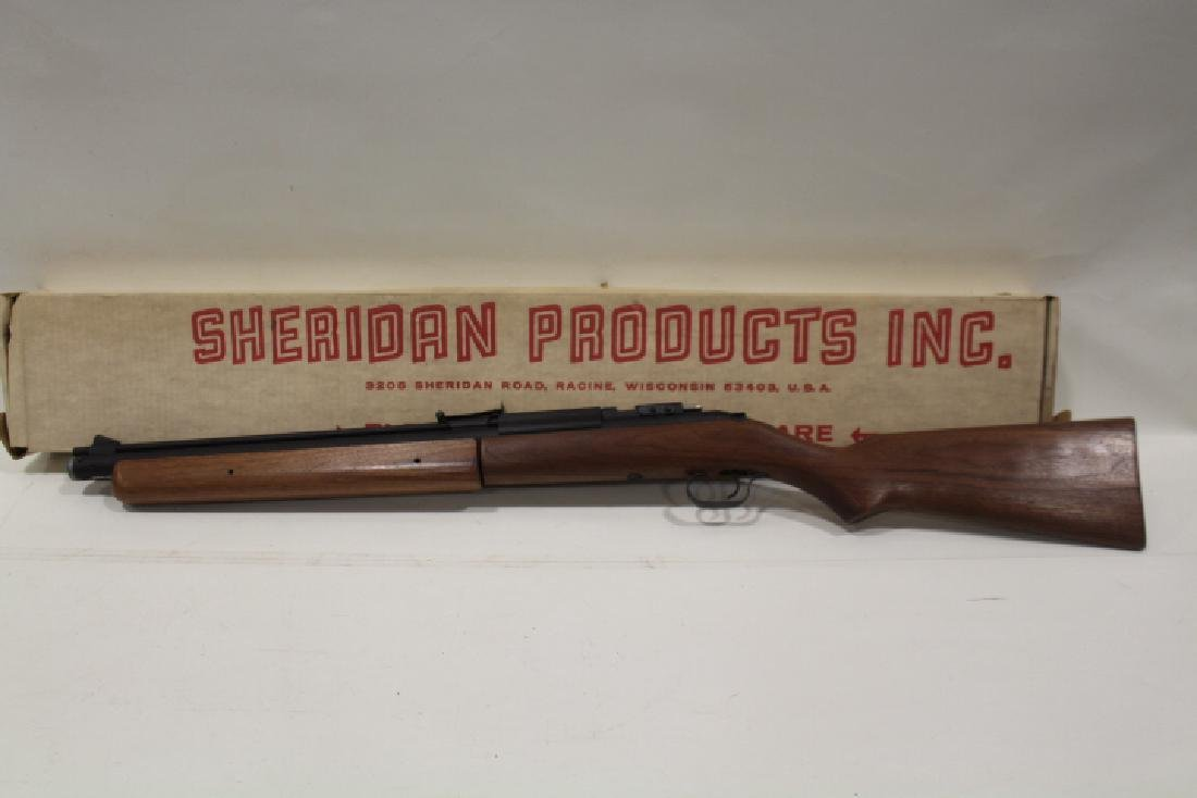 Sheridan Model CB Bolt Action Pump Air Pellet Rifle