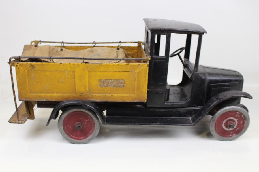 1920s Buddy L Truck No. 207 Ice Delivery w/Canvas