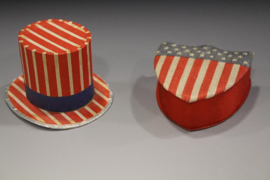 Patriotic Candy Containers Federal Shield & Top Hat