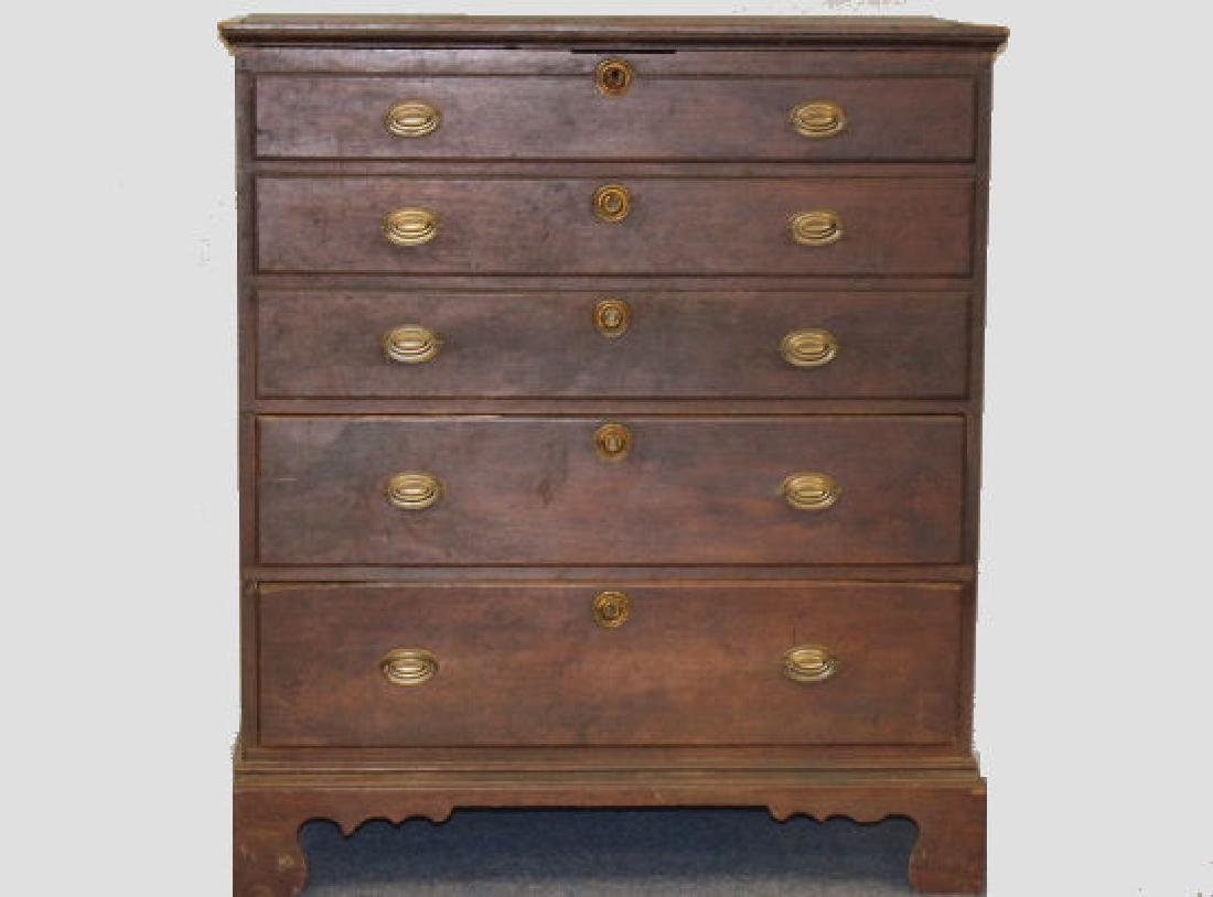1780-90 Federal Period Blanket Chest - Provenance