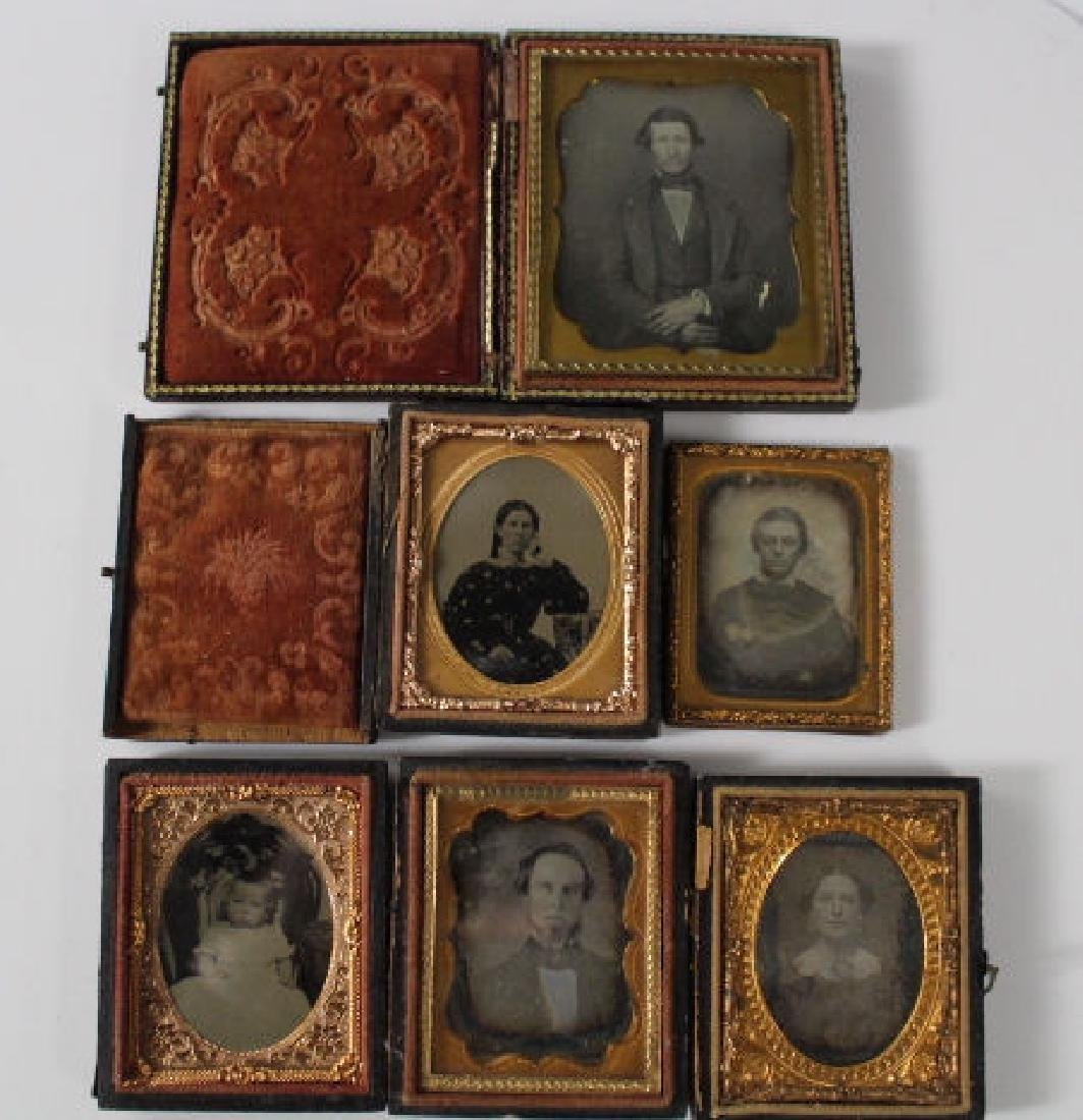 Group of Early Images - Daguerreotypes