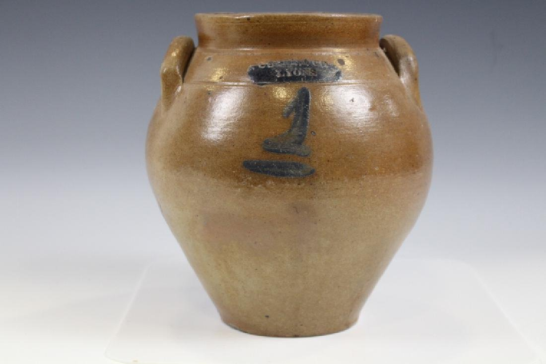 1 G Stoneware Ovoid Storage Jar Clark & Co Lyons