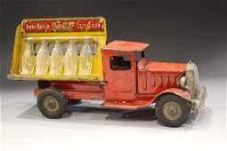 Metalcraft Coca-Cola Truck w/ Capped Bottles