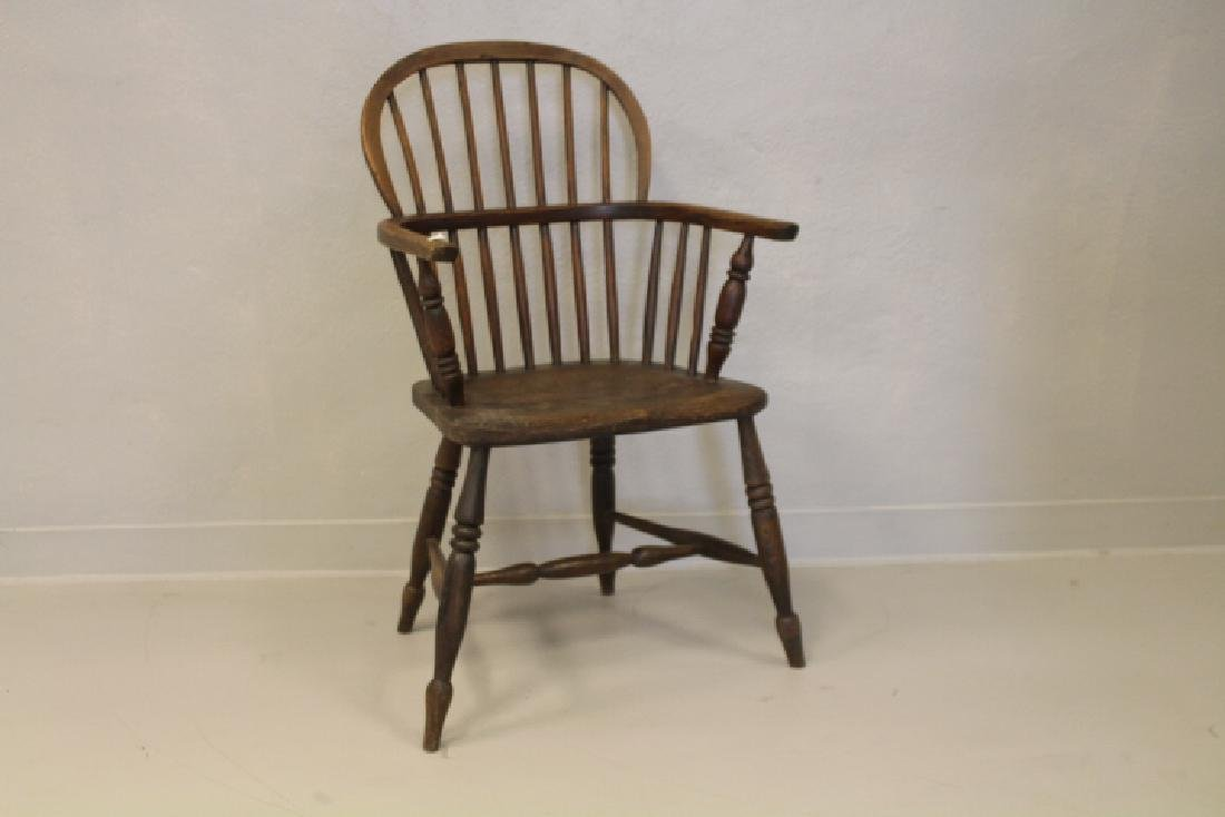 19th C Windsor Arm Chair