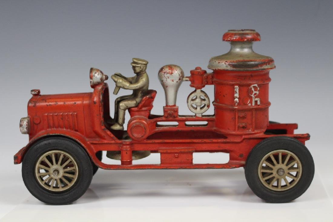 Cast Iron Hubley Fire Engine Pumper