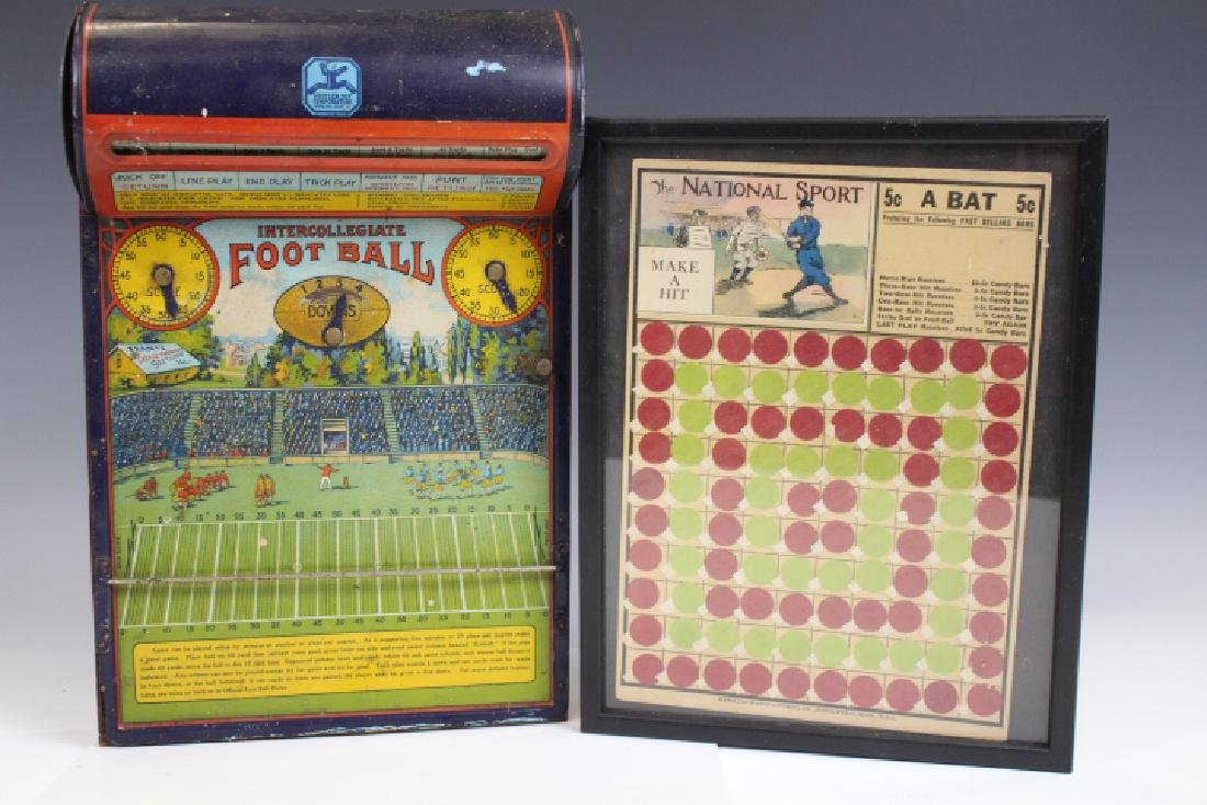 Baseball & Football Vintage Games