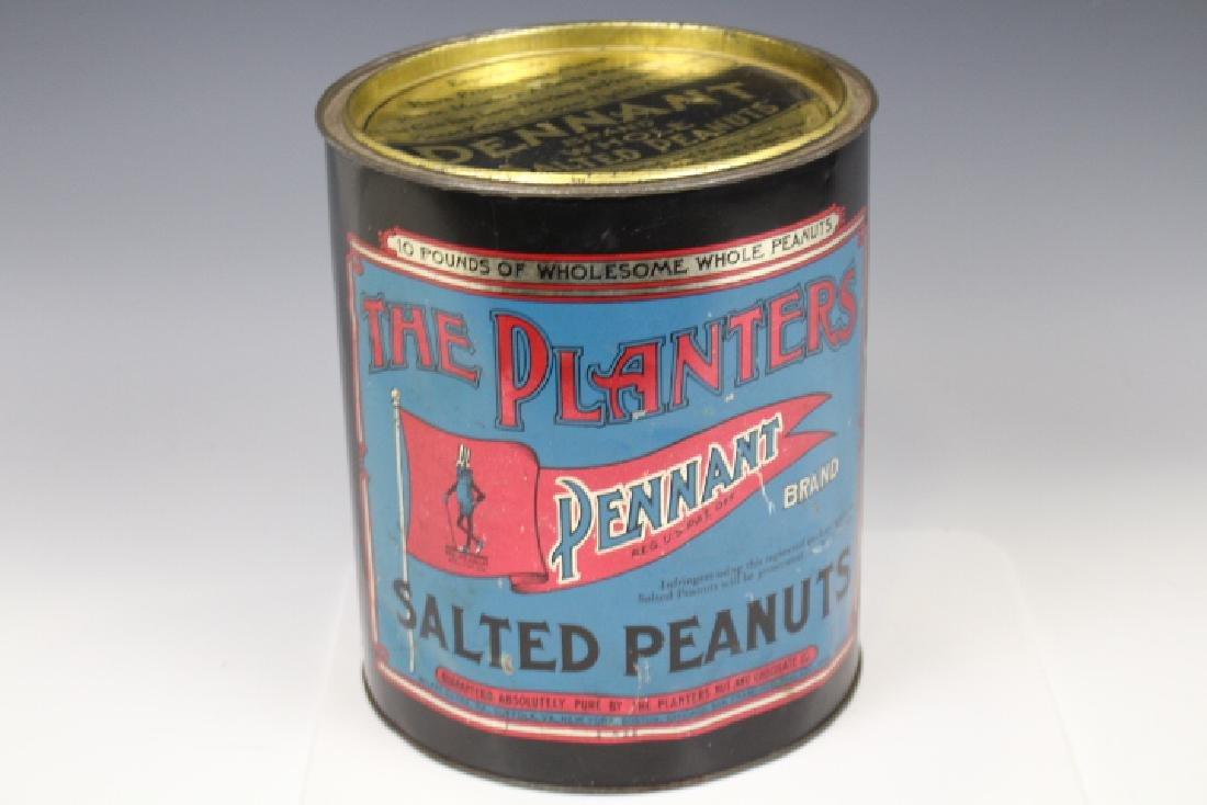 Planter's Peanuts 10# Store Advertising Tin