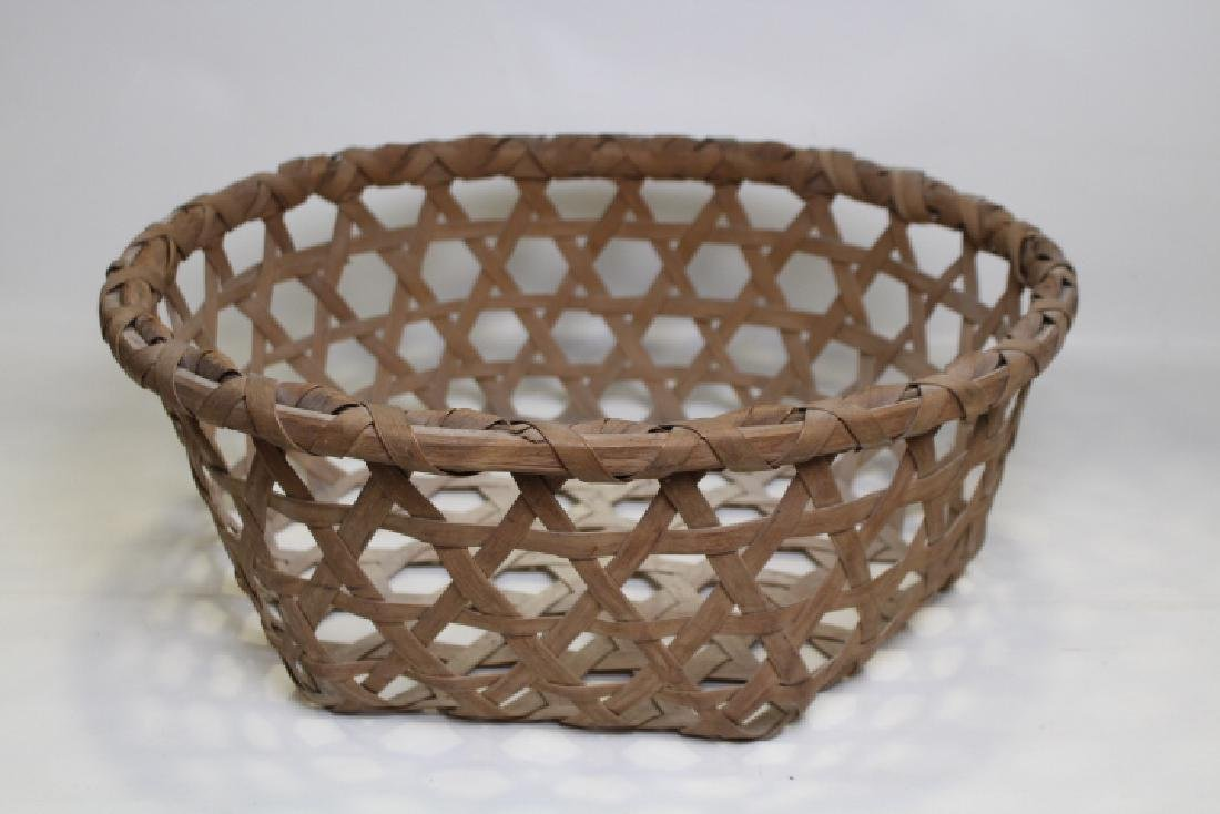 Very Large Splint Ash Cheese Basket