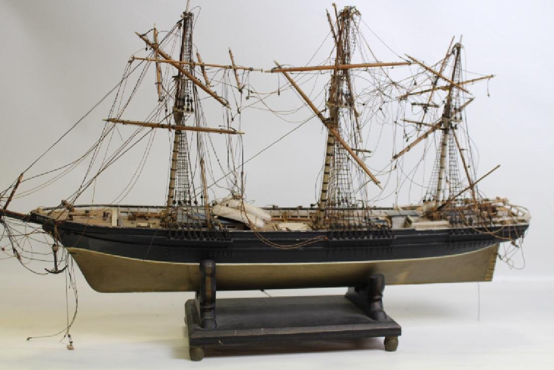 Folk Art Model Ship - Sea Witch