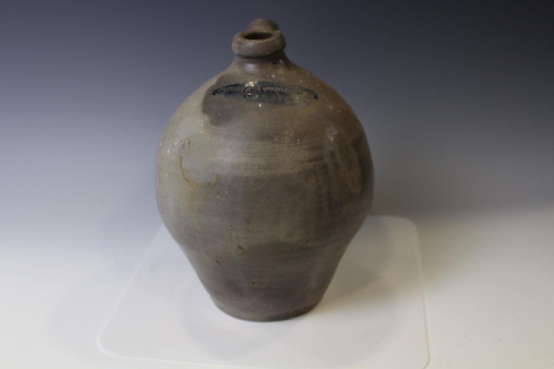 Thomas Chollar Stoneware Ovoid Jug Cortland