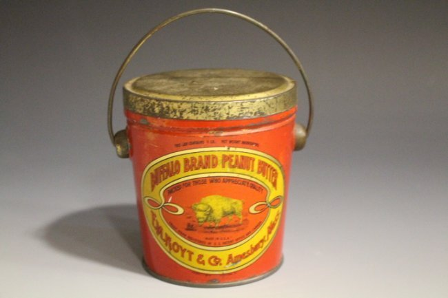 Buffalo Brand Peanut Butter Tin
