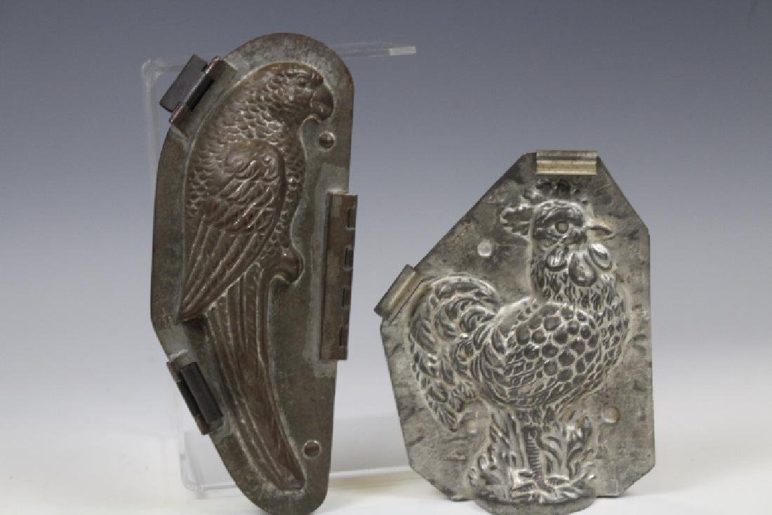 Parrot & Rooster Chocolate Molds