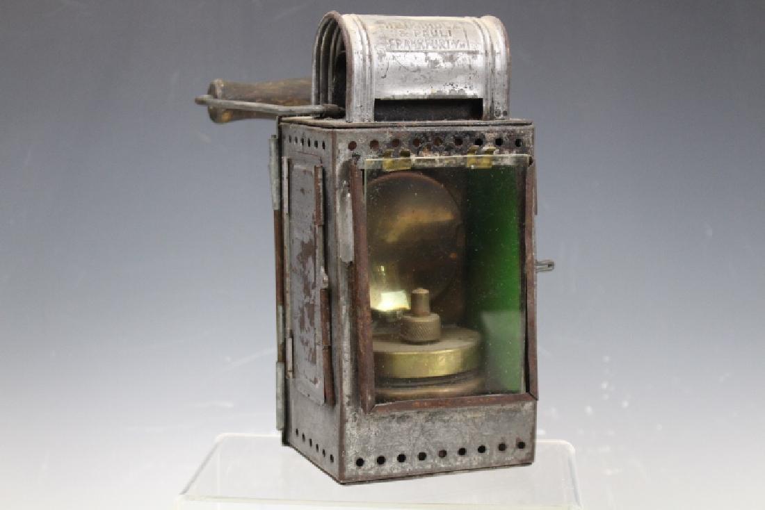 1940s WW II German Railroad Lantern