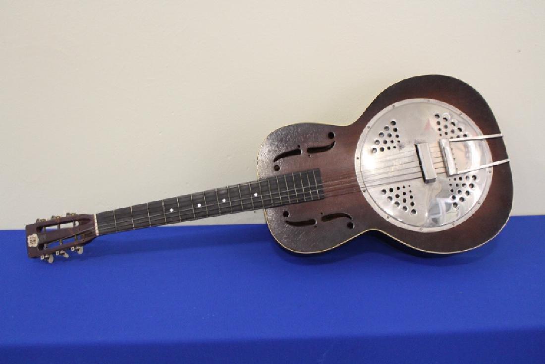 1938-1940 Kay Deluxe Resonator Guitar