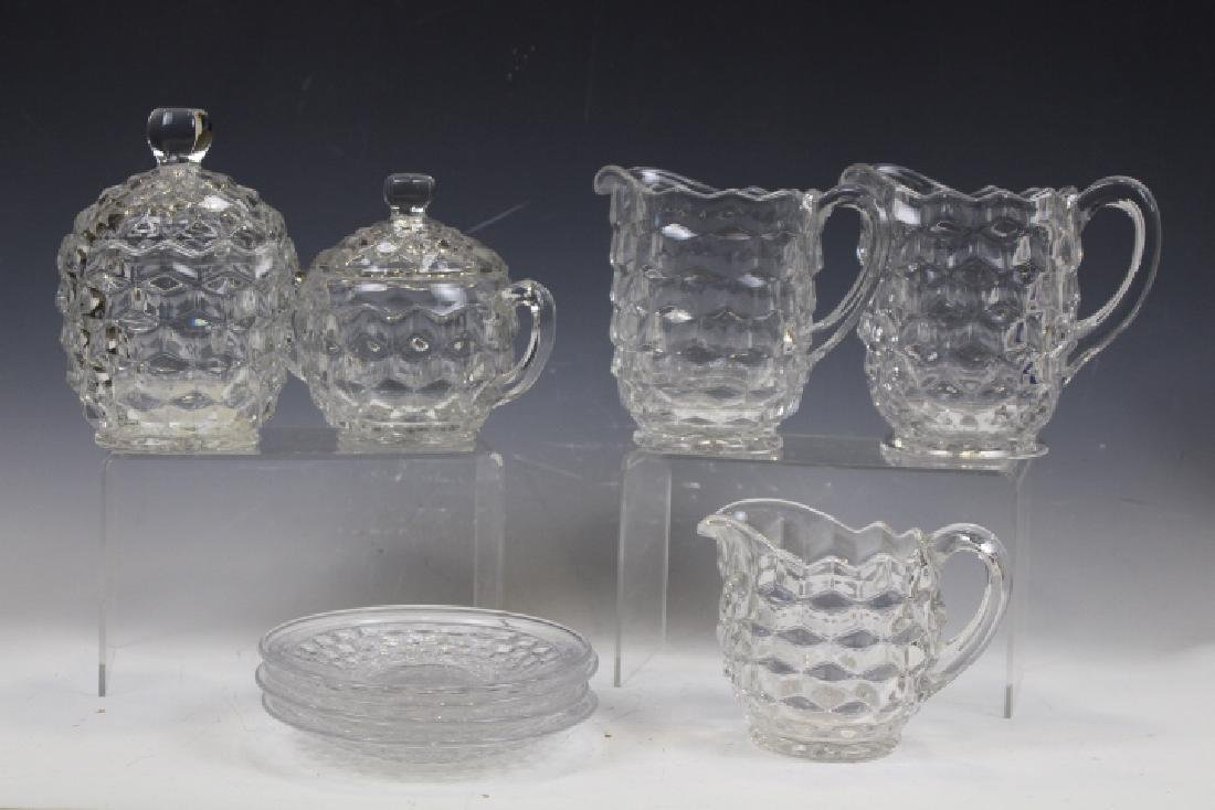 Fostoria Glass Pitchers, Creamers & More