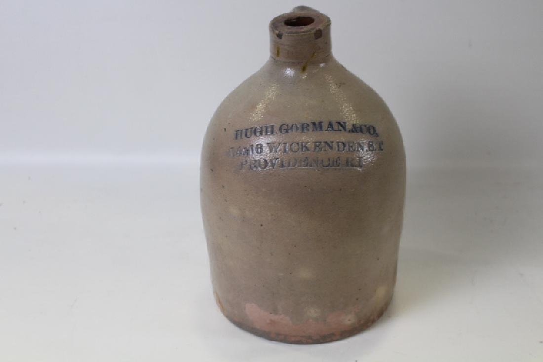 Hugh Gorman & Co. Rhode Island Stoneware Jug
