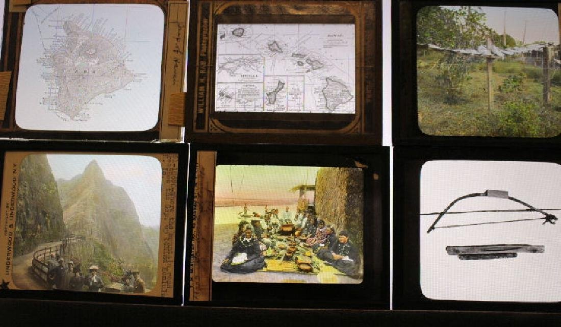 11 Lantern Slides - Hawaii some by William Rau