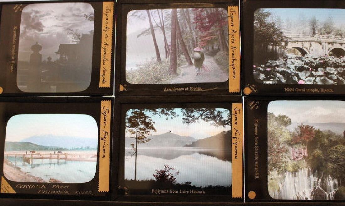 21 Lantern Slides - Japan cities by T. Takagi - 2