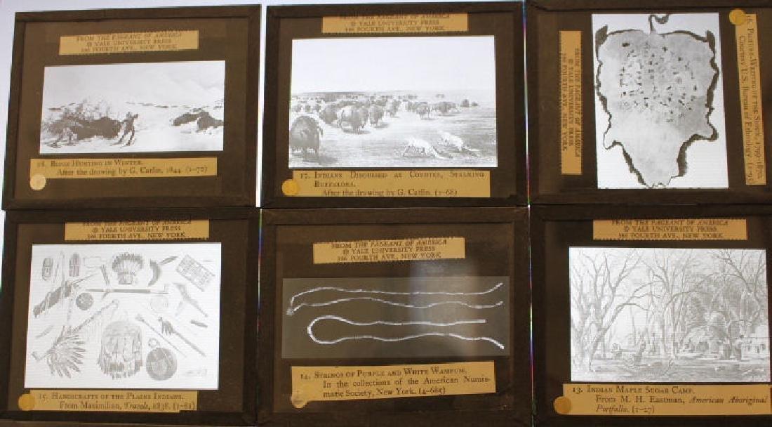 47 Lantern Slides - Story American Indians in Box - 3
